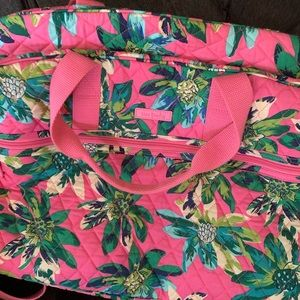 Vera Bradley Tropical Paradise Grand Traveler Bag